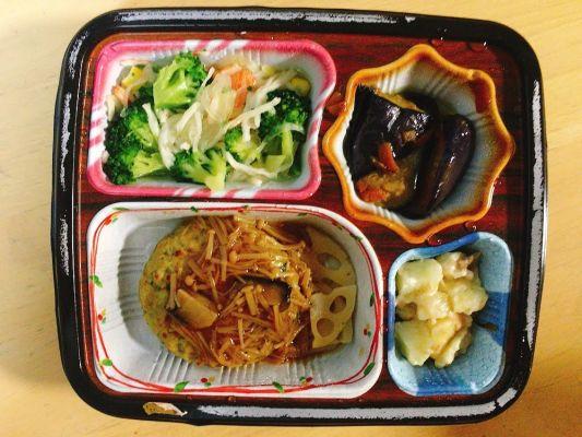 豆腐ハンバーグきのこソースセット
