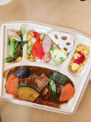 1日目:お肉ゴロゴロ野菜カレーなど洋食4品